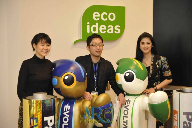 Evolta - Zoom in Beauty winners participate in battery workshop